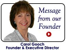 Carol Gooch, Founder/Executive Director
